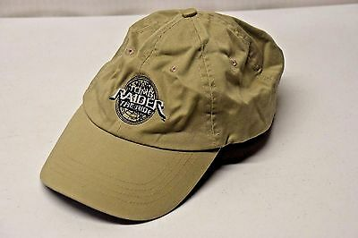Kings Island Amusement Park Tomb Raider the Ride Roller Coaster Hat - BRAND NEW!