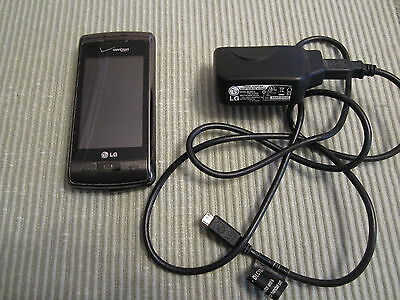 Vintage Verizon Lg Cell Phone With Charger