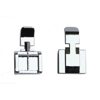 1Pcs Zipper Foot 2 Sides For Sewing Machine Brother Janome Singer Snap-on Models