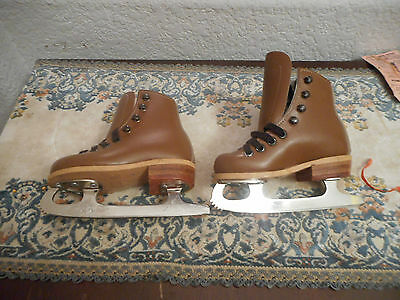 RIEDELL ICE SKATES  RINK MASTER SHEFFIELD STEEL Children Size 7
