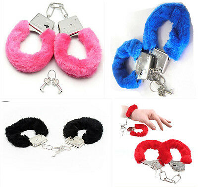Adult Fantasy Sex Toy Cosplay Handcuffs Adult Night Party Game Favor colour