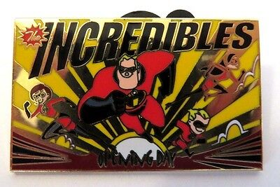 Walt Disney World The Incredibles Cast Exclusive Opening Day Le 1500 Disney Pin