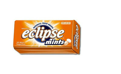 2 Tins of Eclipse Sugarfree Mints Many Flavours for selection