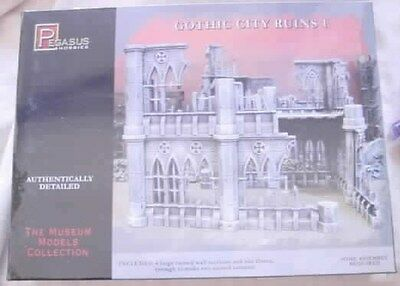 Gothic City Ruins #1 Miniatures Scenery Set by Pegasus