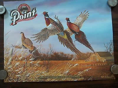 Point Steven Point Brewery Beer 3 Pheasant Poster 24x18