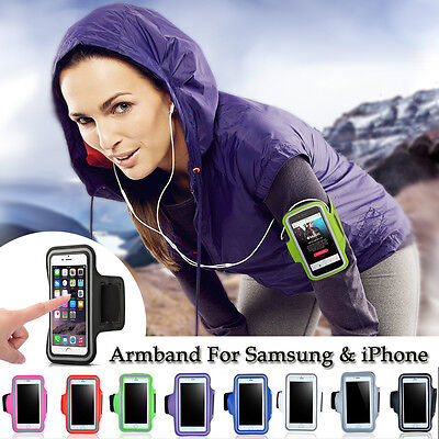Gym Running Jogging Sports Armband Exercise Holder Case Cover for iPhone Samsung