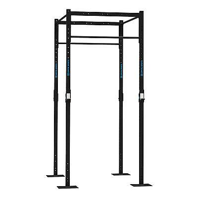 Capital Sports Power Half Rack Steel Squat Pull Up Station Multi Gym Strength