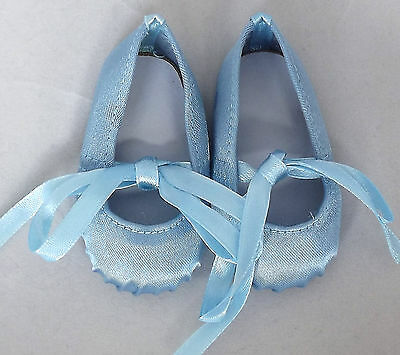 Light Blue Ballet Doll Shoes 4 Baby Alive / Baby Born