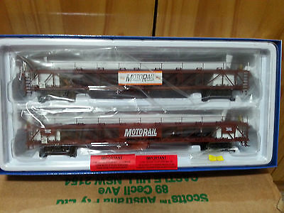 Auscision Mixed Two Pack Of Motorail Wagons.