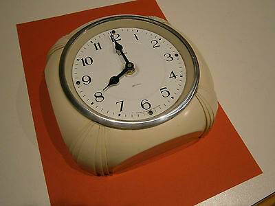 Retro Smiths Kitchen Wall clock Working, Battery Powered