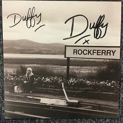 """7"""" Duffy - Rockferry ( 2008) Signed Wolverhmpton 5/12/08 - 500 Only Pressed !!"""