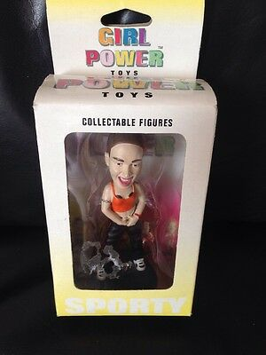 Spice Girls Girl Power Boxed Collectable Figure Sporty Spice