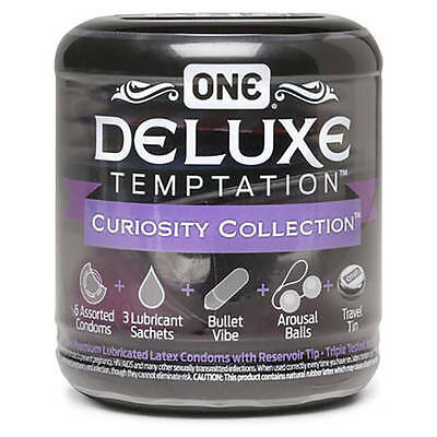 ONE Deluxe Temptation Curiosity Collection Condom 1 Kit