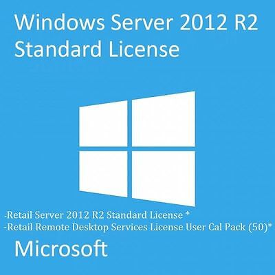 LICENZA/LICENSE MICROSOFT WINDOWS Server 2012 R2 Standard 32/64 BIT ESD KEY