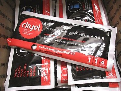 40 Dryel At Home Dry Cleaner Cloths   Ew 6873