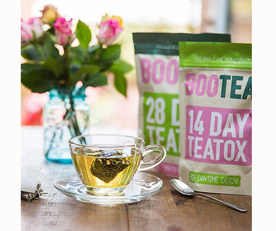 Genuine BOOTEA Teatox - 28 Day Teatox Daytime & 14 Bedtime Weight Loss Cheap NEW