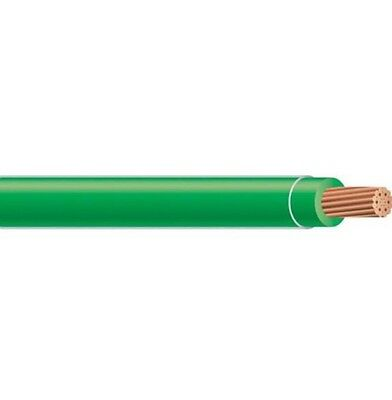 100' Thhn Thwn 10 Awg Gauge Green Nylon Pvc Stranded Copper  Building Wire