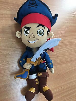 Jake and the neverland Pirates disney store teddy