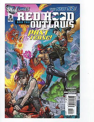 Red Hood & the Outlaws # 3 New 52 N52 1st Print NM DC