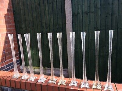 Eiffel Glass Vases for Wedding/ Party