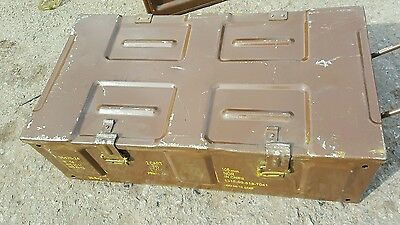LARGE AMMO BOXES. ARMY/MILITARY  .ideal toolboxes storage etc 4x4!!