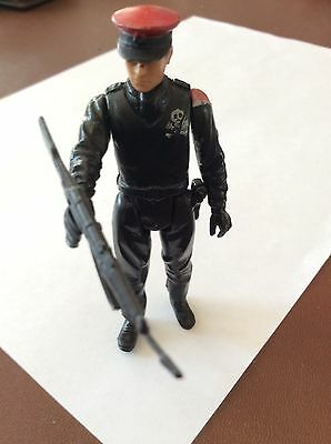 Action Force Figure Red Shadow Black Major And Gun 1980s