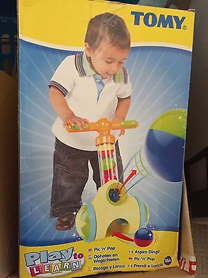 Tomy Baby Ball Popper In Boxed Used