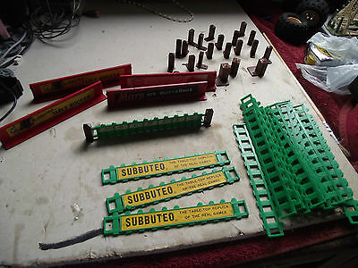 Subbuteo Rugby Set RR  VINTAGE FENCE SURROUND AND MORE SEE PICTURES