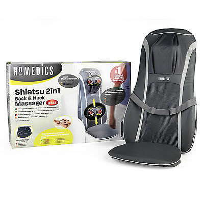 New Homedics Sensatouch 2 In 1 Shiatsu Neck And Back Massager C38/9
