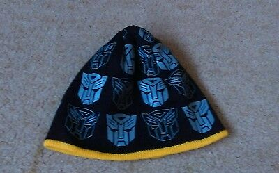 Boys Transformers hat age 4-8 years