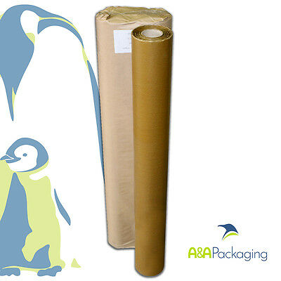 1 Roll 900mm Waxed Kraft Paper Brown Rust Resistant Wrapping Grease Barrier Wrap