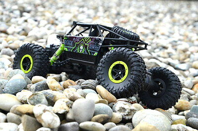 RC Rock Crawler 1:18 Monster Truck - 2,4Ghz 4WD-Grün