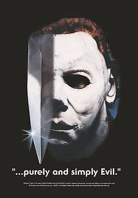 "Halloween Flagge / Fahne ""michael Myers Purely & Simply Evil"" Poster Flag"