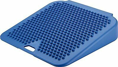 Movin' Sit Inflatable Seat Cushion Promotes Better Posture & Spinal Column Blue