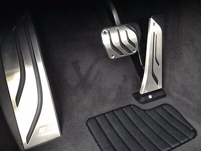 BMW M Performance 1 2 3 4 F30 Automatic Stainless Steel Pedal Set with Footrest