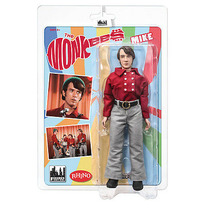 The Monkees 8 Inch Mego Style Action Figures: Red Band Outfit Mike Nesmith