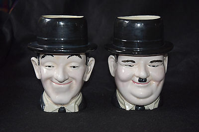 Laurel and Hardy Original Hand Painted Ceramic Mugs