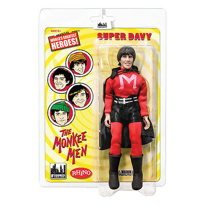 The Monkees 8 Inch Mego Style Action Figures: The Monkee Men Davy Jones