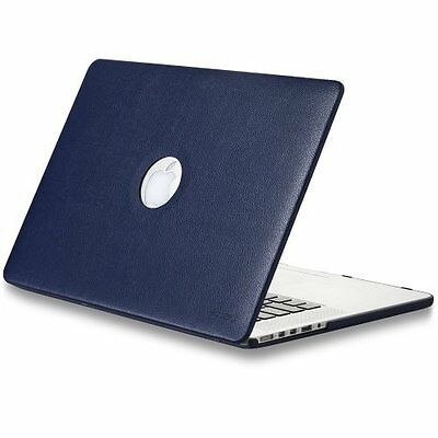 LEATHER Hard Case - Protects your MacBook Pro easy to put on and take off