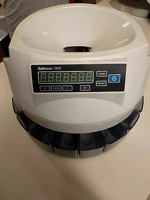 Safescan 1200GBP Automatic Coin Counter and Sorter - No Reserve 113-0415