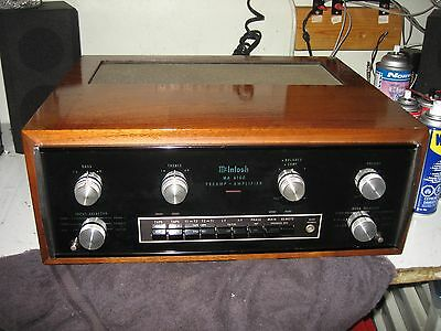 Vintage McIntosh MA-6100 Integrated Amplifier with Wood Case