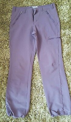 Colombia hiking walking trousers uk size 14