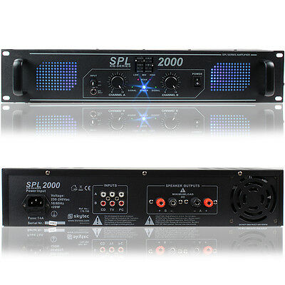Skytec 178.799 DJ Power Amplifier 2000W