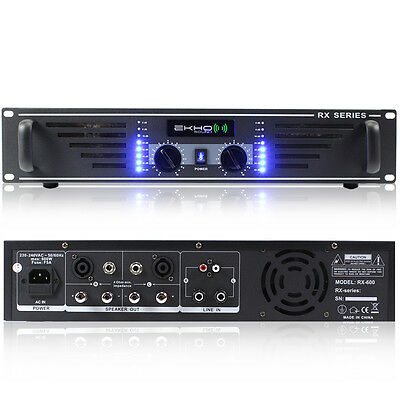 Ekho RX600 DJ Power Amplifier 600W