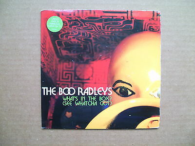 """THE BOO RADLEYS - WHAT'S IN THE BOX?  7"""" VINYL SINGLE No'd LIMITED EDITION"""