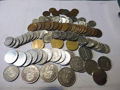 Netherlands  coins as listed