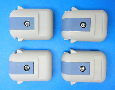 ROHDE and SCHWARZ REPLACEMENT FEET LOT OF 4