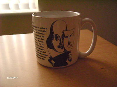 Shakespeare Mug. By Largely Literary Designs Inc.