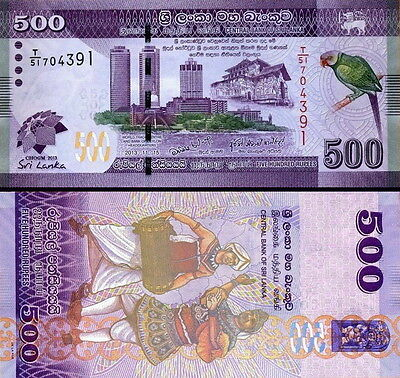 SRI LANKA - 500 rupees 2013 Commemorative FDS - UNC
