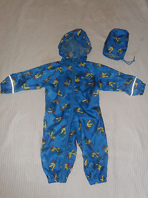 Baby Mountain Warehouse Waterproof All In One. 6-12mths.